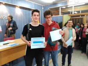 Concurso de Primavera - Ganadores 3º y 4º ESO