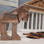 Caballo de Troya y Partenón.
